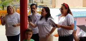 Coral no CAJEC - Casa de Apoio José Eduardo Carichio - em 27/07/2019.
