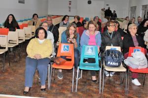 Teatro - Uma paixão de salão - em 24/07/2019, participando da comemoração dos 79 anos do IEOB.